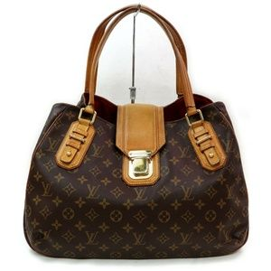 Louis Vuitton Greet Monogram Satchel